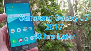 Samsung Galaxy J7 V 2017 my experience using for the last 48 hrs