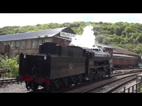 Keighley and Worth Valley Railway - WD 2-8-0