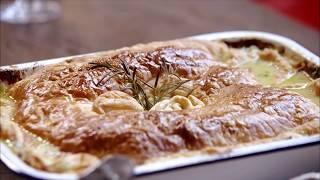Пирог с курицей и грибами Джейми Оливера