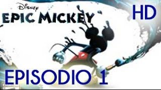 Disney Epic Mickey Wii / Wii U  Episodio 1 - Gameplay español El primer Splatoon xD