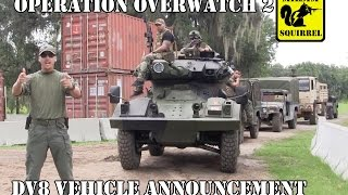 Op Overwatch 2 DV8 Vehicle Announcement