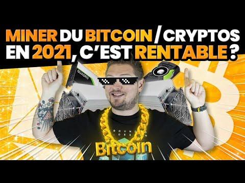 Miner du Bitcoin / Crypto en 2021, c'est rentable ?