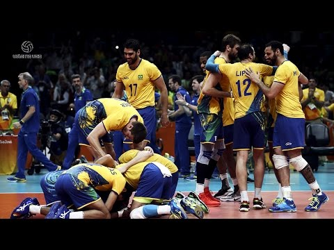 Brazilian Men's Volleyball Team || Best Team of All Times