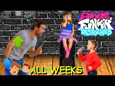 Friday Night Funkin' Restocked (ALL WEEKS) - Friday Night Funkin Mod