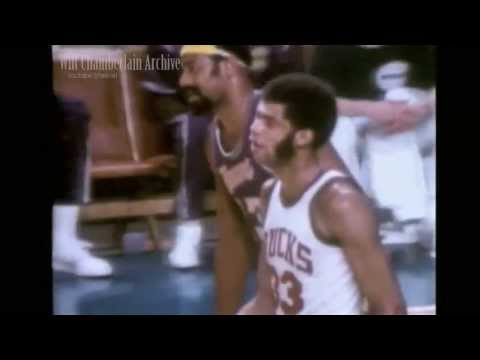 The Battle of The Giants - Wilt Chamberlain versus Kareem Abdul-Jabbar