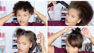 One of arnellarmon's most viewed videos: Straightening My Natural Hair After Almost A Year! + Length Check