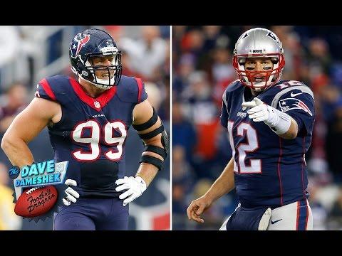 Will J.J. Watt own Tom Brady's Patriots?   Dave Dameshek Football Program   NFL