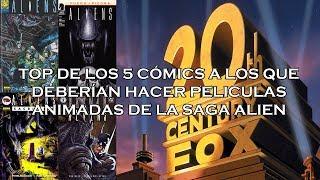 Top 5 cómics de la saga Alíen que se merecen su propia película animada