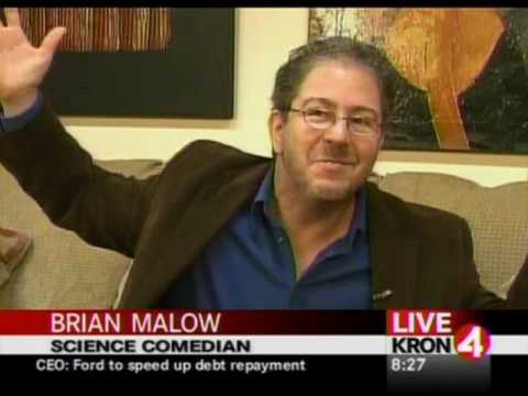 Science Comedian Brian Malow Does Jewish Comedy TV