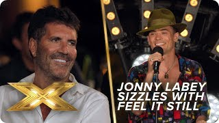 Jonny Labey DAZZLES in duet with LEGENDARY producer David Foster | X Factor: Celebrity