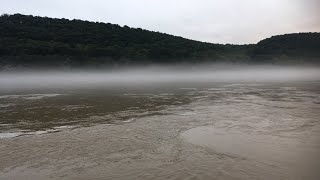 Susquehanna River Fog, 9/12/18 - LIVE!