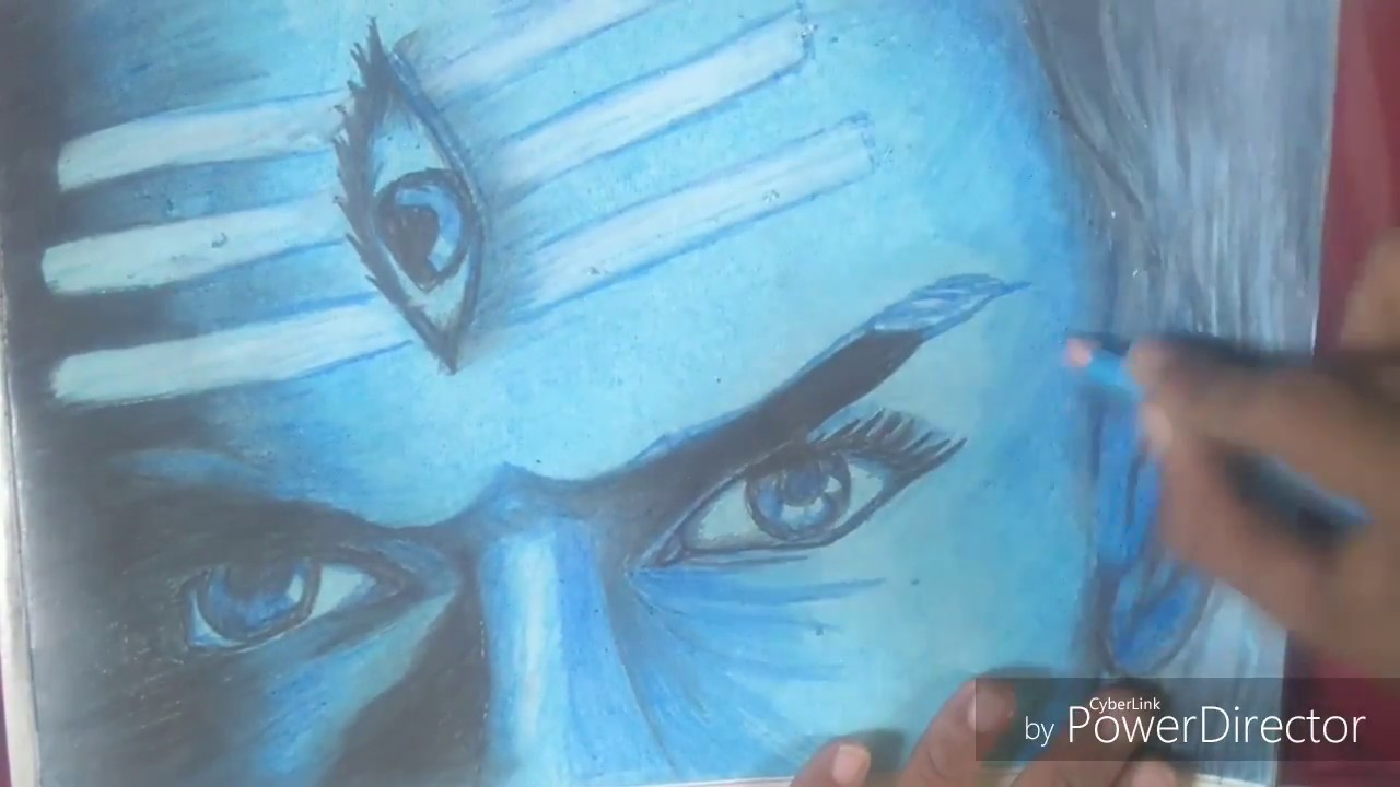 Drawing of mahadev mahakal