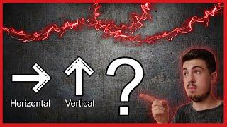 AUDIO VERTICAL VS AUDIO HORIZONTAL