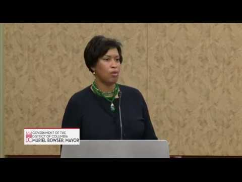 Mayor Bowser & Rep. Norton Defend DC Home Rule from FY19 Appropriations Riders, 5/2/18