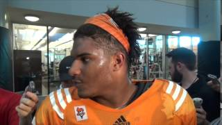 #VolReport: Jordan Williams Media Session (8/271/4)