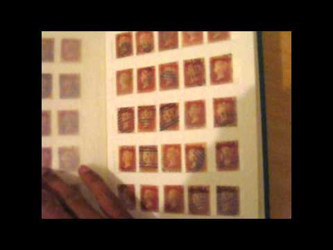 Valuable collection of 329 Great Britain Queen Victoria Penny Red stamps for sale. Ebay UK listing