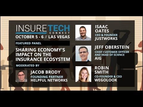 InsureTech Connect  Sharing Economy's Impact on the Insurance Ecosystem HD