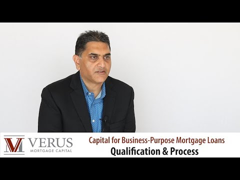 Verus Mortgage Capital | Private Lender Qualification And Process