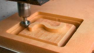 Cutting PU Foam with CNC Milling Machine