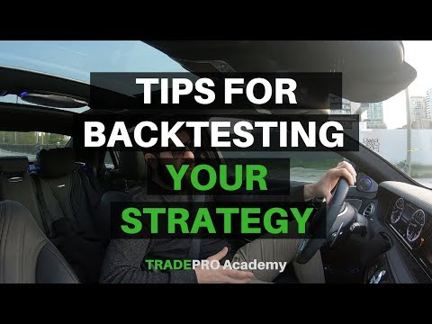 Backtesting or live testing your trading strategy? Tips for which is right for you.