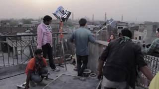 Making of SAAIYAAN song by QURATULAIN BALOUCH(BTS)