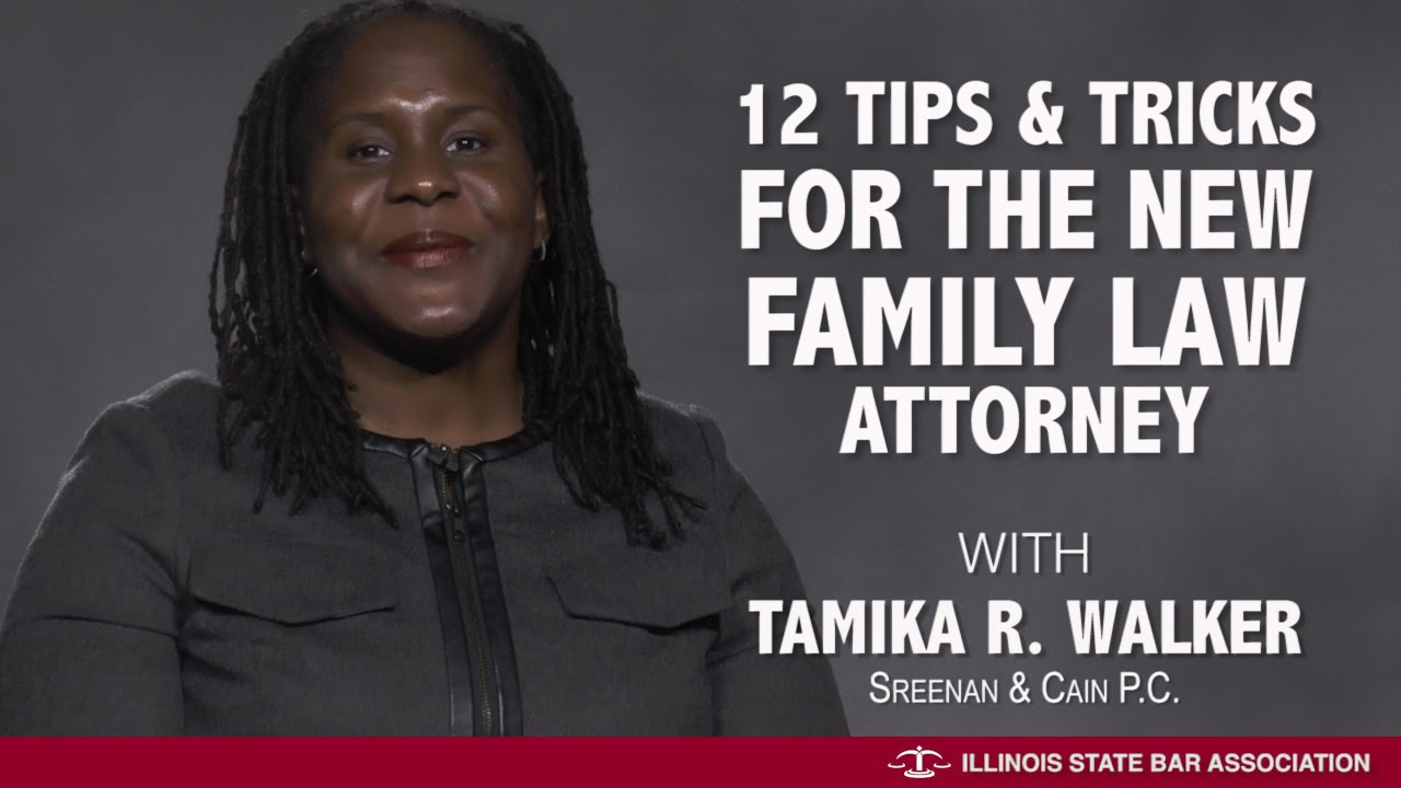 12 Tips Tricks For The New Family Law Attorney Youtube