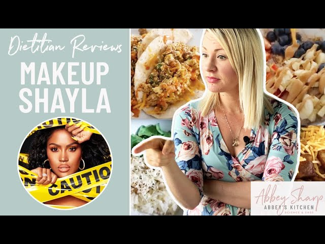 Dietitian Reviews MAKEUPSHAYLA What I Eat In A Day