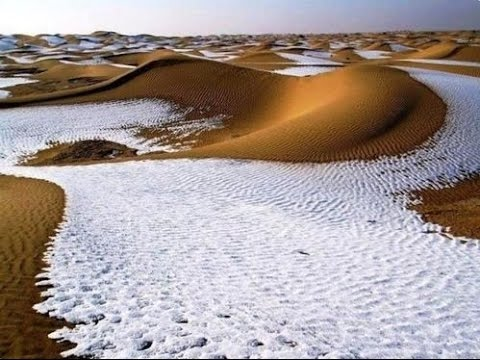 Moroccans Freeze to Death as Snow Blankets the Sahara & Nort