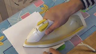 Как ламинировать с помощью утюга.(, 2014-10-19T09:59:57.000Z)