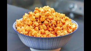 Bacon BBQ Popcorn - der Snack für Griller