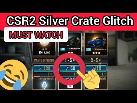 CSR2 CRATE GLITCH! VERY NEW.