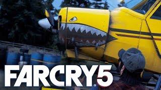 Far Cry 5 - САМОЛЕТ С ХАРАКТЕРОМ! ПОЛЕТАЕМ? #8