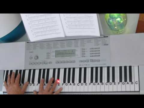 How to Play ~ Moonlight Sonata   1 of 4 ~ Beethoven ~ LetterNotePlayer ©