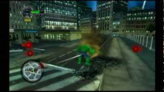Hulk: Ultimate Destruction (GCN) - 3 Game Start: Enter the City