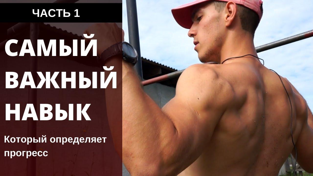 СТРОИМ СПИНУ. Перекладина. Как правильно подтягиваться для развития мощной спины?