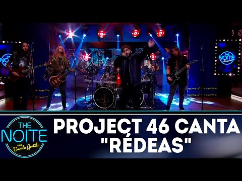 Banda Project 46 canta Rédeas | The Noite (30/05/18)