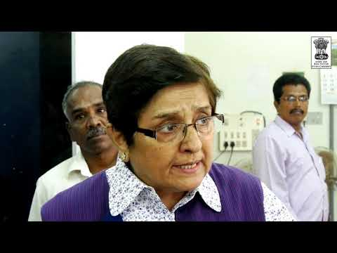 """Media policy to be notified"": Dr. Kiran Bedi"