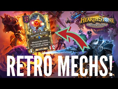Retro Mechs Are STILL Awesome!   Hearthstone Battlegrounds