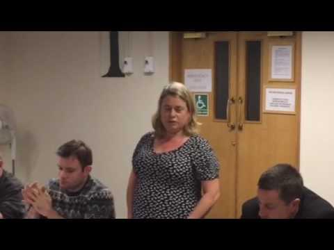 Annette Wright's Final Speech as Manchester Trades Council President