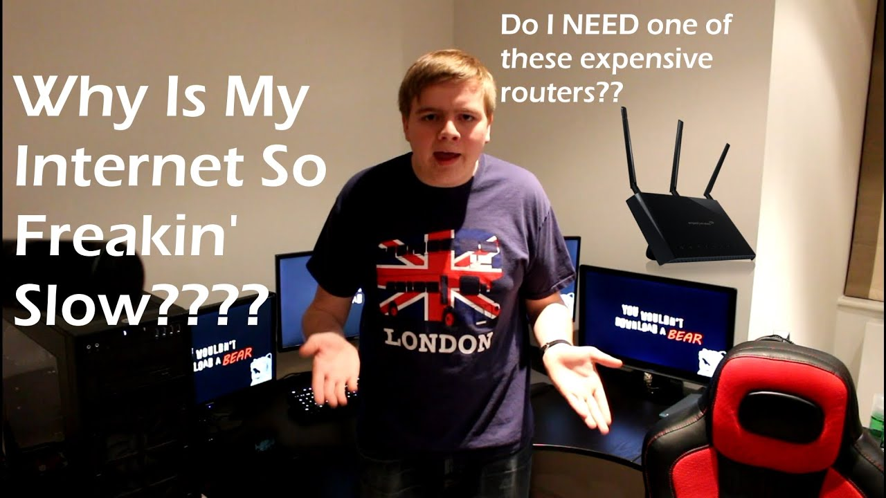 Why is My Internet So Slow? - YouTube
