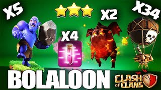 How to BoLaLoon 3 Star Attack Strategy in Clash of Clans - TH11 Attacks by cwl clans 2018