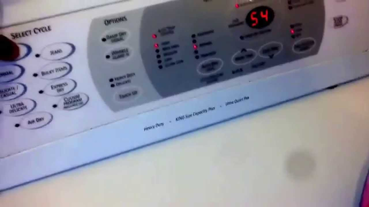 Kenmore Elite 2005 Calypso Youtube