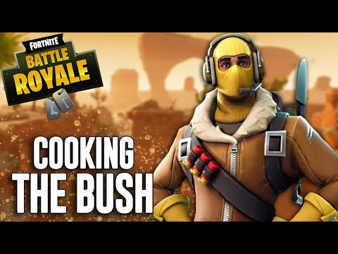 Cooking The Bush!?! - Fortnite Battle Royale Gameplay - Ninja