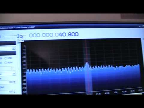 Using a PC sound card to receive VLF radio signals