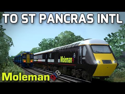 Welcome Aboard the 0812 MoleMainline Service to St Pancras Intl...