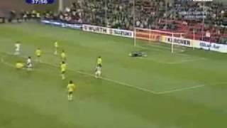 LITUANIA 0:1 ROMANIA 6/6/09 Fifa 2010 World Cup Qualifiers Highlights and Goals