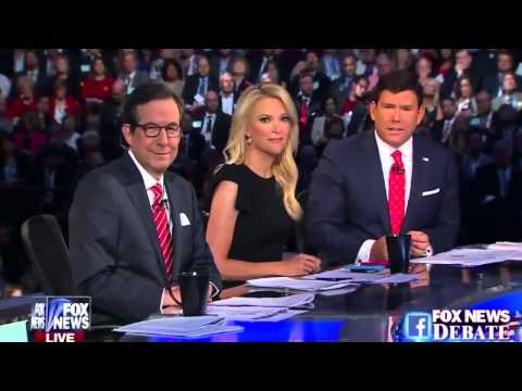FULL SHOW - Presidential GOP Republican Prime Time Debate Part 1 - Presidential Election 2016