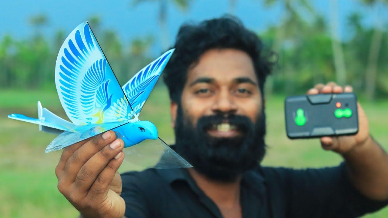 Rc Controlled Bird | റിമോട്ട് ഉപയോഗിച്ച് പറത്തുന്ന കിളി | M4 TECH |