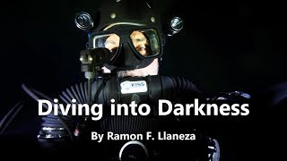 Underwater Cave Exploration Diving into Abyss of Darkness