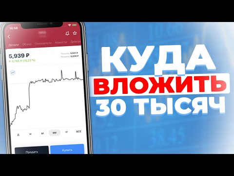РАСПРОДАЖА на Фондовом Рынке. Куда Вложиться?  / Покупка Акций На 30.000 Рублей